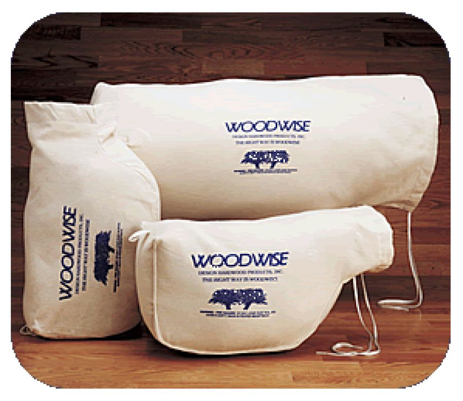Woodwise double bottom Edger Bag